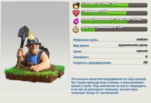 описание шахтера