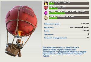 Воздушный шар описание